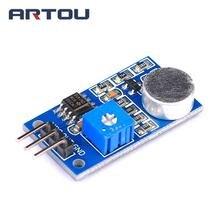 5 PCS Sensor de Microfone Ruído Decibel Som Módulo de Interface para Arduino