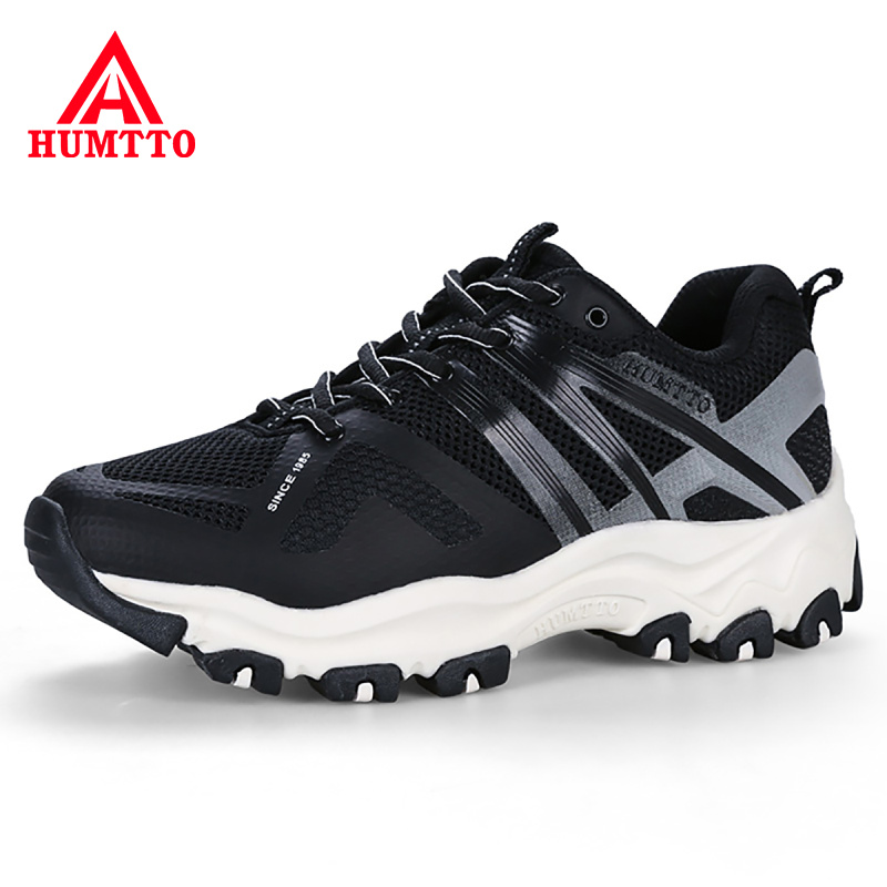 Buy 2018 New Breathable Mesh Man Shoes Brand Casual Lace-up Mens Shoes Outdoor Light Hard-Wearing Sweat-Absorbant Adult Sneakers Men