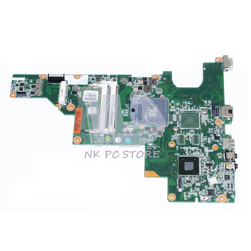 646177-001 For HP 2000 Compaq CQ43 CQ57 Laptop motherboard  HM65 GMA HD DDR3 100%test 744008 001 744008 601 744008 501 for hp laptop motherboard 640 g1 650 g1 motherboard 100% tested 60 days warranty