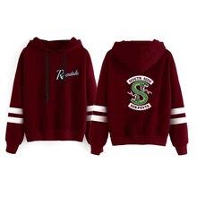 Riverdale Hoodie Sweatshirt Women Long Sleeve South Side Serpents