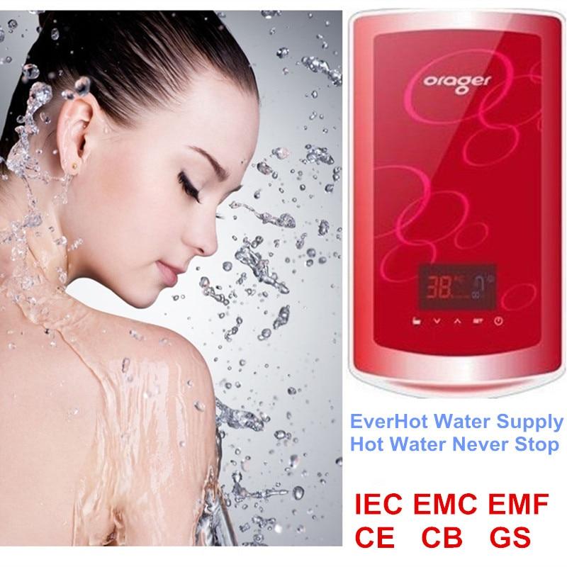 8500 Вт настенный мгновенный нагрев непрерывного горячего индукционный нагреватель воды котел для душ раковина из нержавейки термостат упра