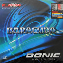 Donic BARACUDA 12080 13080 Pips in Table Tennis PingPong Rubber With Sponge with a cake sponge table tennis racket