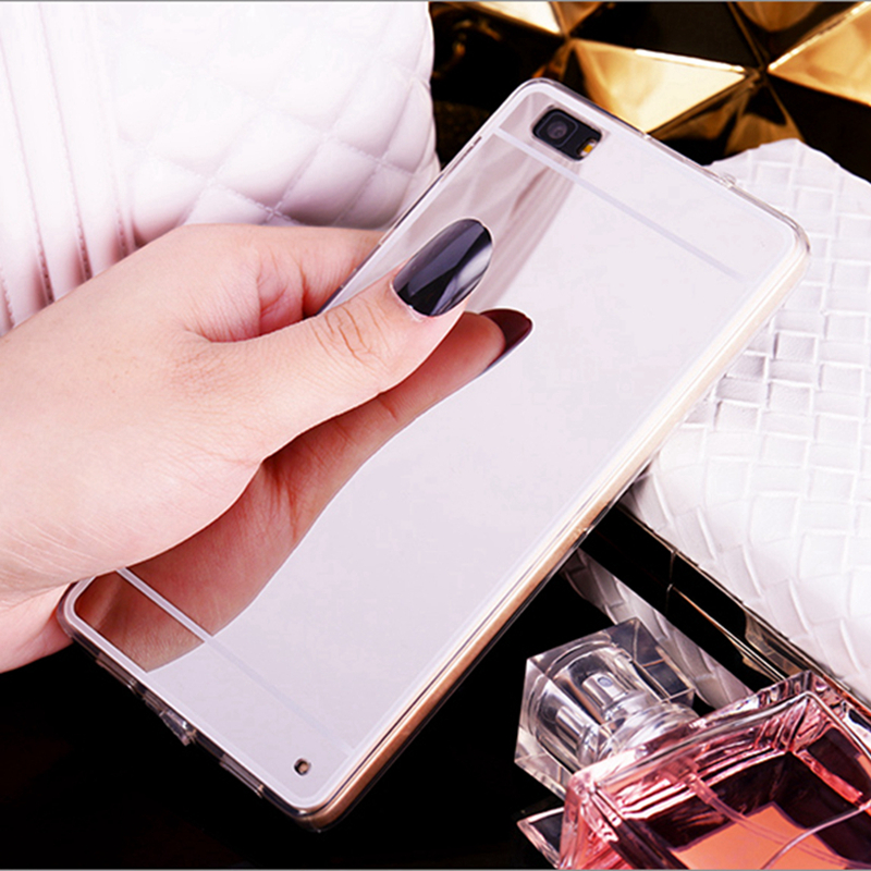 Cute Mirror TPU Case For Huawei Honor V10 9 V9 Play 7X 4A 6A Enjoy7 P10 P9 Lite/Plus P8 Lite 2017 Mate10/9 Y3II Y5II Back Cover