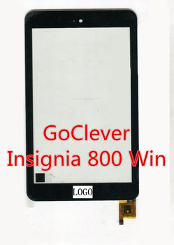 """black 8"""" Inch for GoClever Insignia 800 Win tablet pc touch screen panel  Digitizer sensor replacement"""