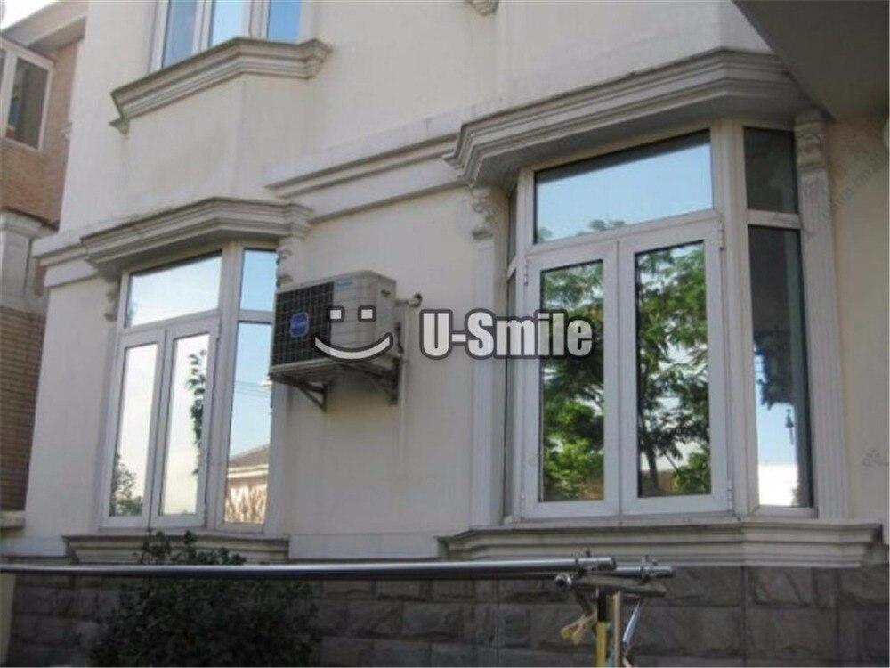 VLT 25% зеркальная оконная фольга Виниловая пленка Оттенок для булидинга домашнего офиса Размер стекла: 1,52*30 м/рулон