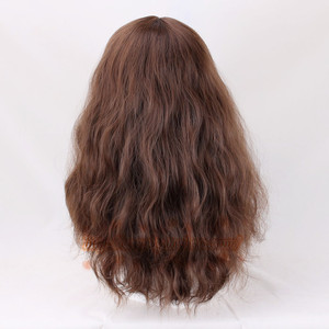 Image 5 - Hermione Jean Granger Cosplay Wig Brown Curly Heat Resistant Synthetic Hair Cosplay Costume Wigs + Wig Cap