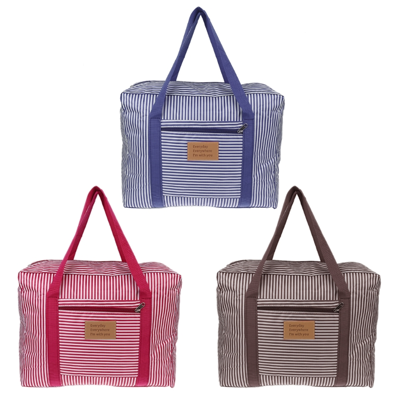 Women's Portable Large Capacity Travel Bag Luggage Storage Waterproof Travel Pouch Tote Bags