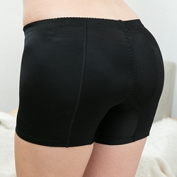 Faux butt lifter et Hanche tapis Enhancer Booty Booster Garçon shorts Coussinets Amovibles Sous-Vêtements Shorty, Pantalon Ferme Tummy Control