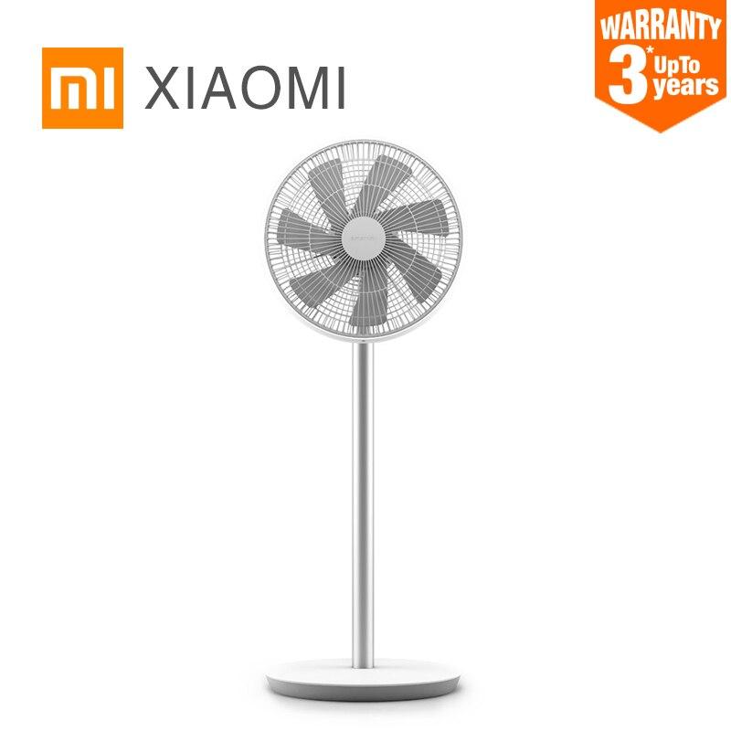 Xiaomi Mijia Étage Ventilateur DC Conversion de Fréquence Avec 7 Pales Du Ventilateur Refroidisseur De Plancher Debout Ventilateur Intelligent AI Contrôle Ventilateur