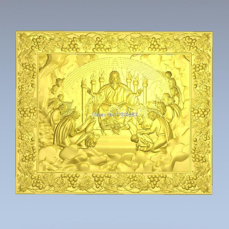 High Quality 3d Model Relief  For Cnc Or 3D Printers In STL File Format The Apostles Of Jesus