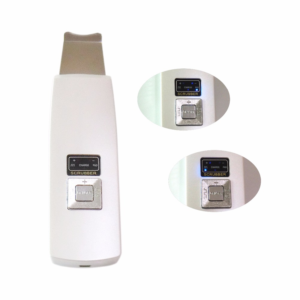 The Hotest Super Sonic Rechargeable Beauty Exfoliating And Blackheads Scrubber Deep Clean Skin Improve Facial Skin Health