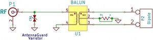 Image 3 - 1:9 антенна HF Balun One Nine: маленький недорогой диапазон частот 1:9 Balun; Длинная Проводная антенна HF, длина 160 м 6 м
