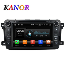 KANOR 8 inch Android 8.0 8 Core 4G Car Multimedia Player For Mazda CX-9 With DVD GPS Navigation Bluetooth USB SD WIFI Map