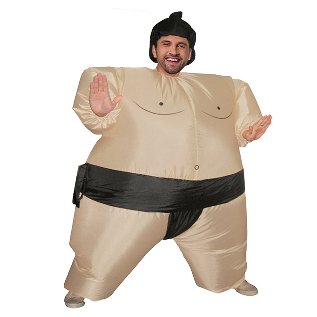Inflatable Sumo Costume Suits Wrestler Halloween Costume for Adult/Children Fat Man Sumo Party Cosplay Blowup Costume InflatableInflatable Sumo Costume Suits Wrestler Halloween Costume for Adult/Children Fat Man Sumo Party Cosplay Blowup Costume Inflatable