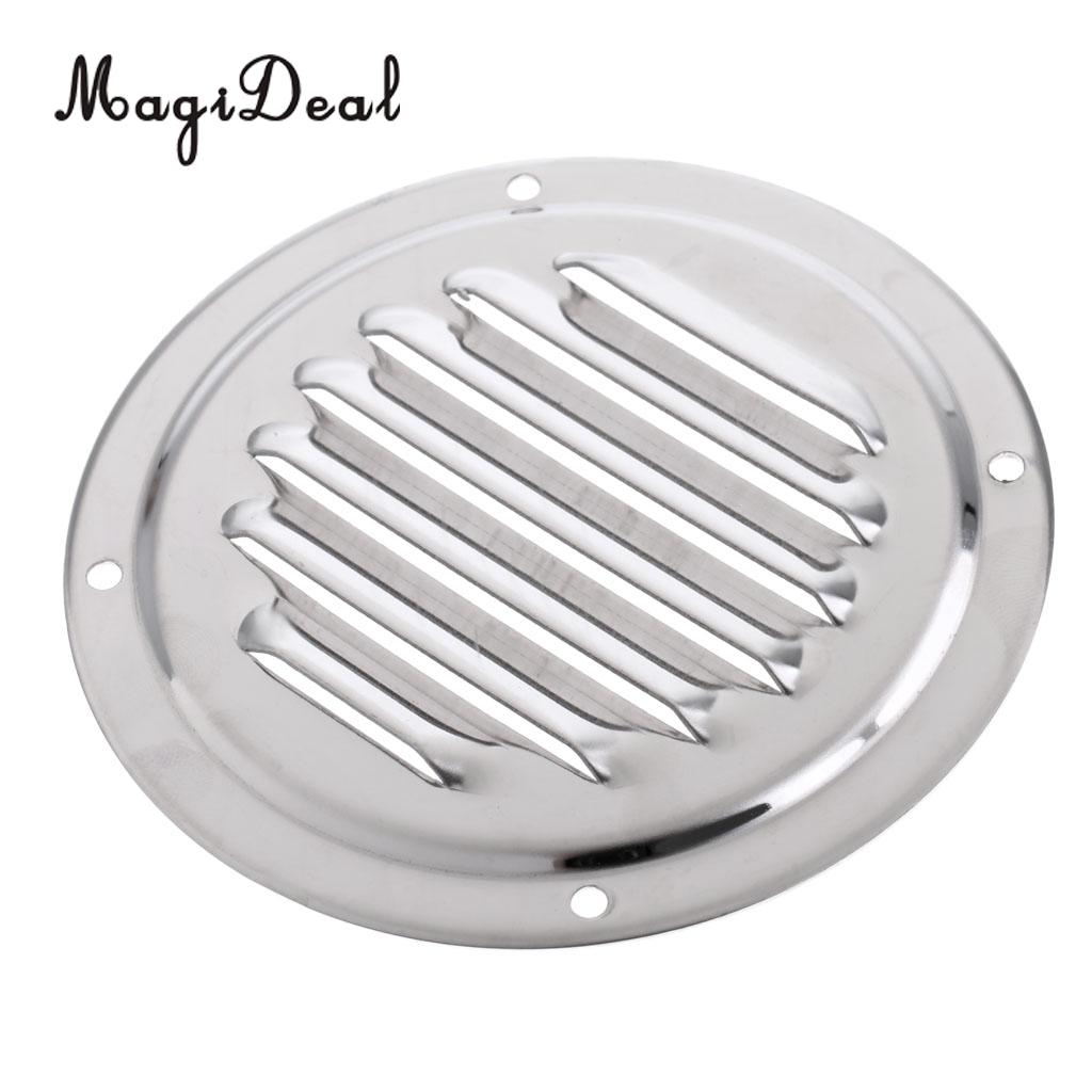 US $3 94 19% OFF|Heavy Duty 4 Inch Round Stainless Steel Louvered Vent  Grill Cover Air Marine Boat Vent Ventilation Accessories-in Rowing Boats  from