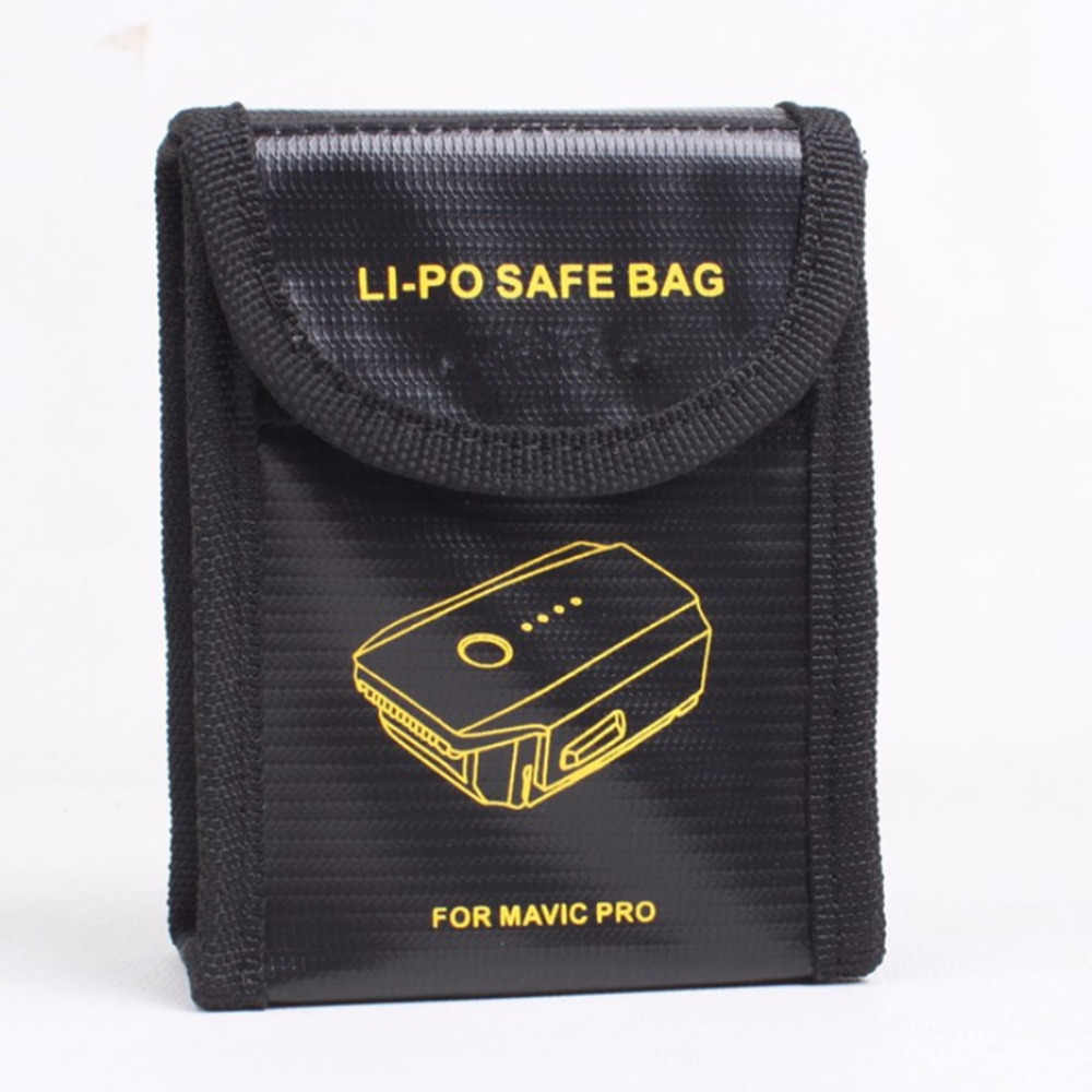 HOBBYINRC 1 pc Mavic Pro Lipo סוללה תיק בטיחות מגן תיק פיצוץ הוכחה מקרה Coverfor DJI Mavic פרו RC drone אבזרים