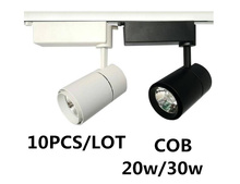 COB LED track light clothing store Windows showrooms exhibition spotlight led cob spot lamp ceiling rail collection Lamp