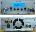 Hot sales! 15 watt pll FM transmitter FMU SER ST-15B with 86MHz-108MHz-100khz