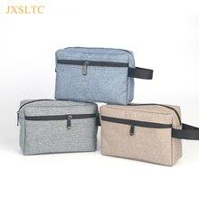 ФОТО jxsltc portable make up women makeup organizer bag girls cosmetic bag toiletry travel kits men's wash storage bag hand bag
