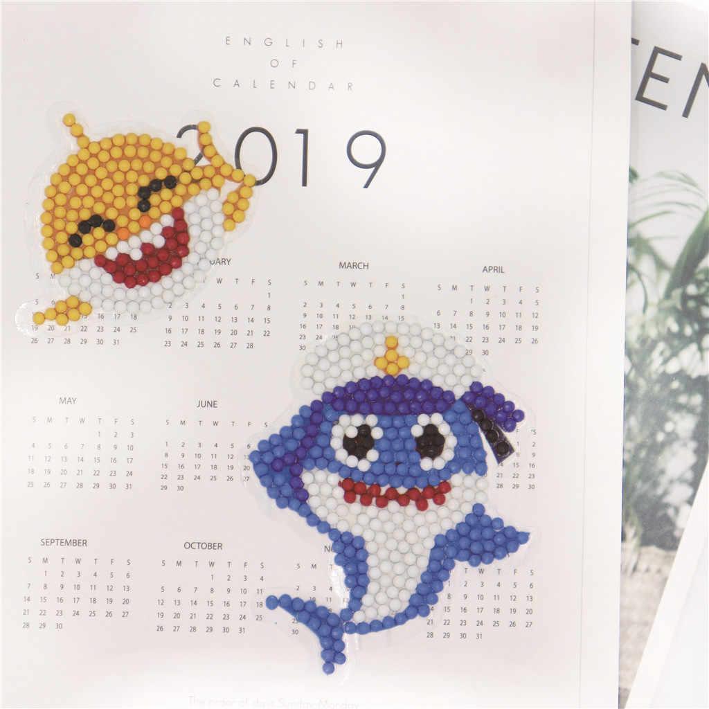 2019 новые 5D DIY алмазные наборы для рисования для детей и взрослых начинающих, палочка краска остроумие