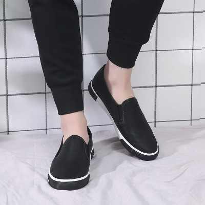 Modelos de explosão dos homens não-deslizamento sapatos vulcanizados confortáveis calçados esportivos confortável e de lazer Sapatos de Tabuleiro moda sapatos baixos