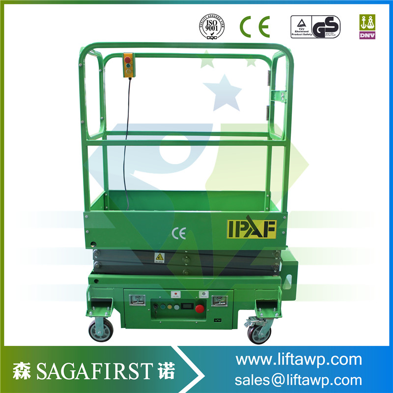 Self Propelled Lift Platform Portable Electric Lifter Electric ...