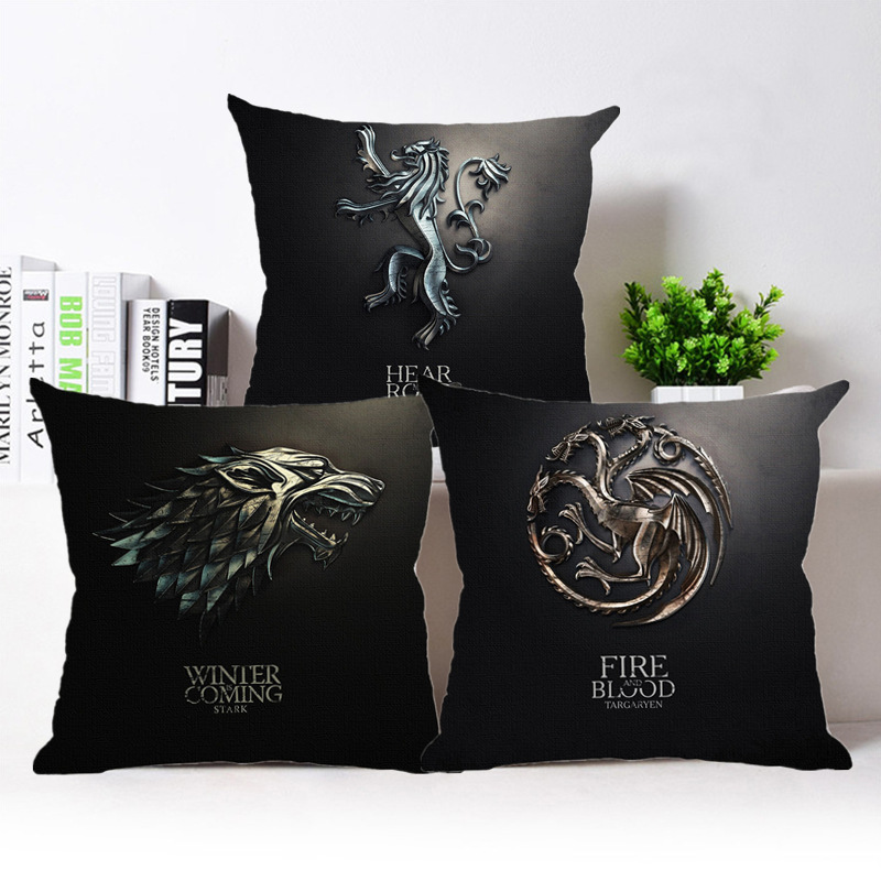 Song Of Ice And Fire Game Of Thrones Cushion Cover Sofa