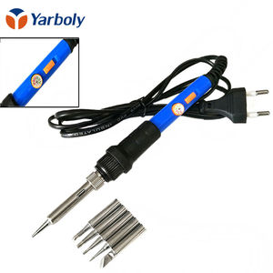 Electric Soldering Iron 60 w 220 v Temperature Adjustable Solder Station Welding Repair Tool