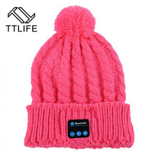 TTLFE New Wireless Bluetooth Headset Headphone Hat Cap With Microphone Earphone Casque Audio Auriculares For MP3 Mobile Phone