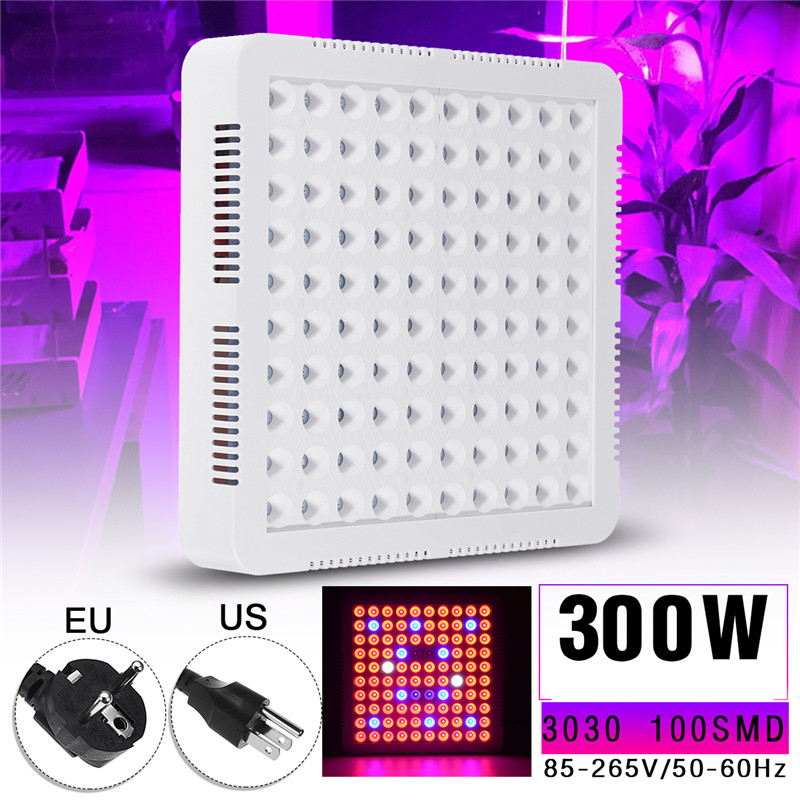 Smuxi LED Grow Light Panel 300W Full Spectrum Led Grow Panel Lamp for Indoor Plants Hydroponic Greenhouse spider farmer dimmable led 300w grow light full spectrum hydroponic systems for seeds indoor plants in agricultur greenhouse