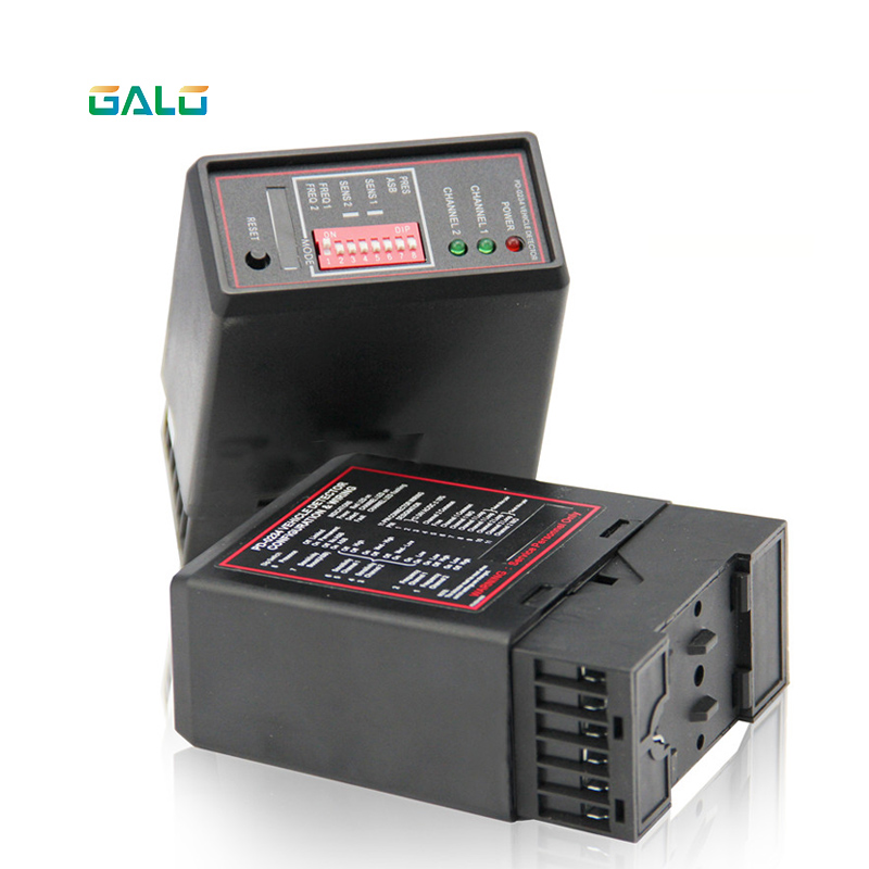 PD232 Two Channel Vehicle Loop Detector For Door Opener,car Parking Management(barrier Gate&ticket Box),detect Direction Of Car