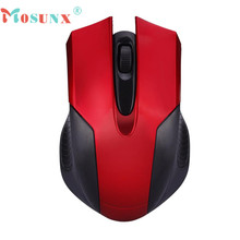 Hot-sale MOSUNX 3 Colors 1600DPI 2.4GHz Mini Portable Wireless Optical Gaming Mouse Mice For Computer Laptop PC 1 pc