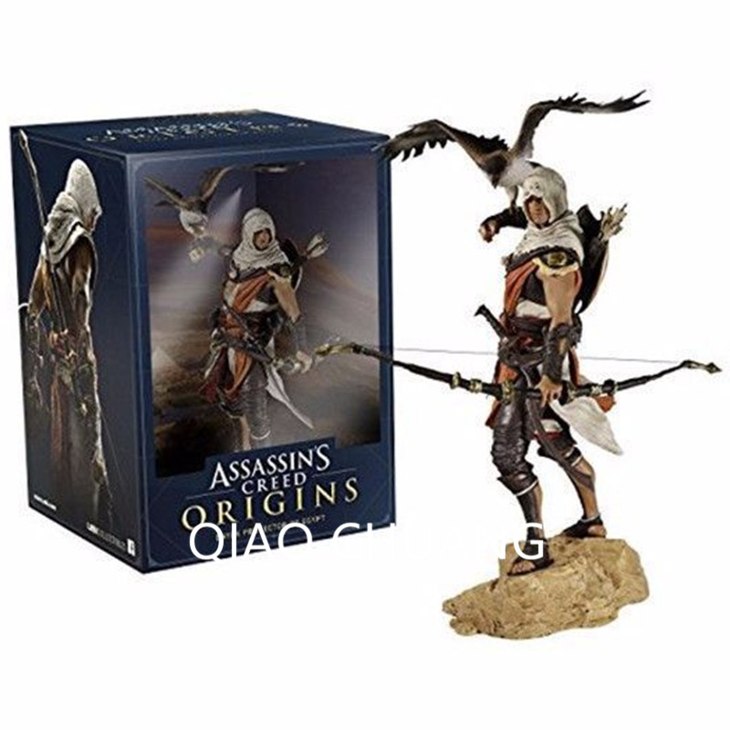 25cm Movie Game Assassin's Creed Origins Figurats Bayek Protector of Egypt Edward Kenway Etc Action Figure Statue Toy G336 фигурка assassin s creed iv edward kenway master of the seas 45 см