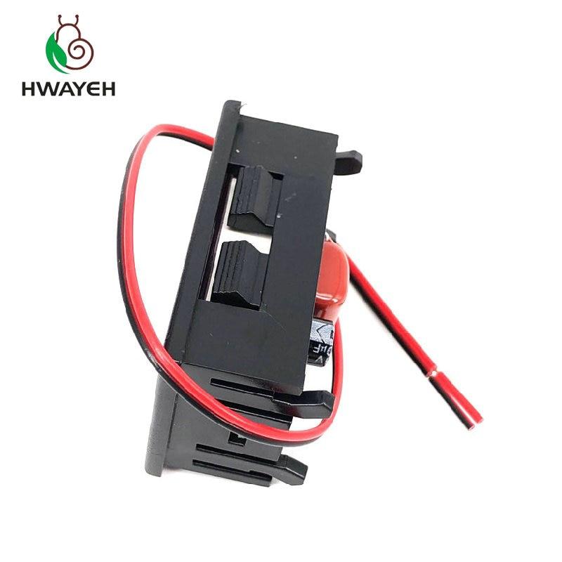 """AC 70 500V 0 56 LED Digital Voltmeter Voltage Meter Volt Instrument Tool 2 Wires Red AC 70-500V 0.56"""" LED Digital Voltmeter Voltage Meter Volt Instrument Tool 2 Wires Red Green Blue Display 110V 220V DIY 0.56 Inch"""
