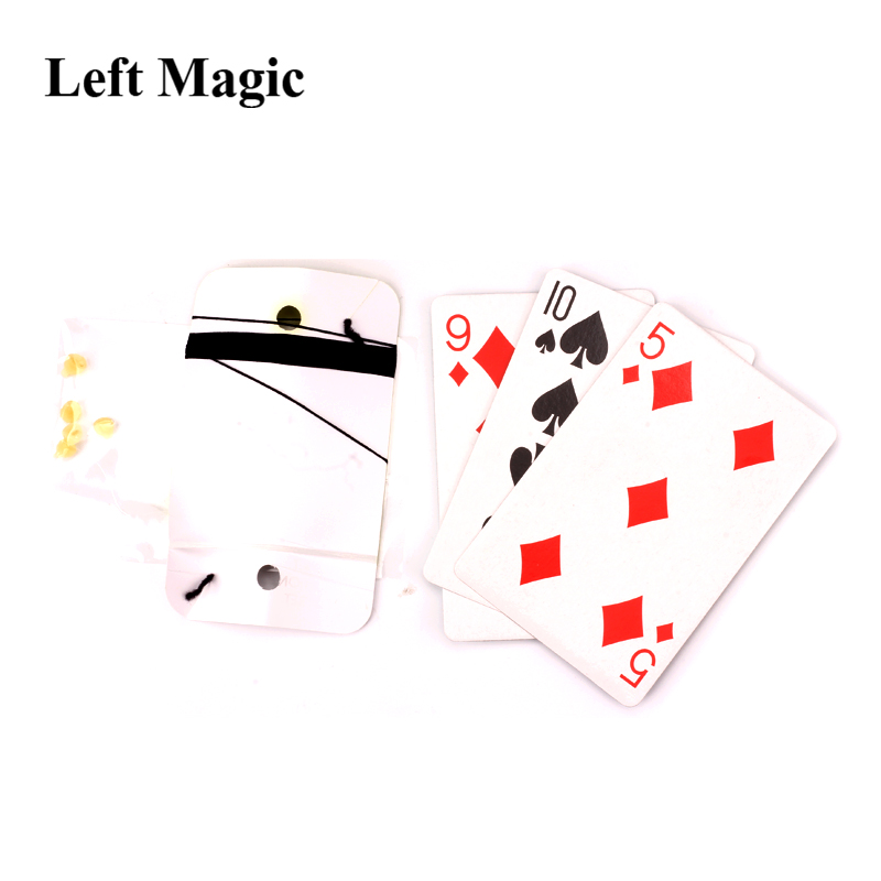 Floating Poker Card Hummingbird Ufo Cards Stage Street Close-Up Magic Tricks w//