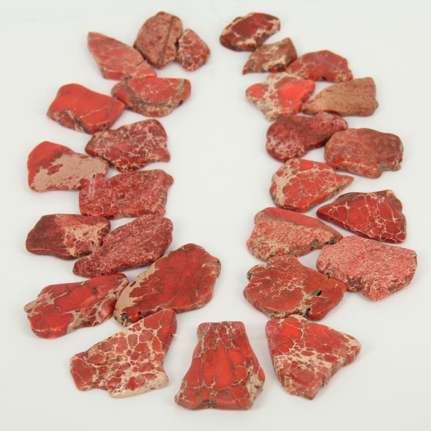 15.5 polegada costa escura laranja sedimentos pedra plana fatia grânulos artesanato colar, colar perfurado superior natural do pendente dos grânulos