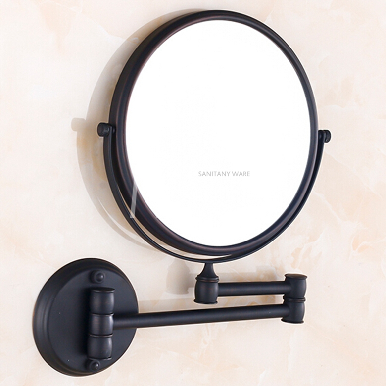 High Quality 8 Bathroom Mirror Copper Oil Rubbed Bronze Retractable Wall Mounted Bath Makeup In Mirrors From Home Improvement On