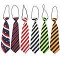 2015 marca moda niños del bebé corbata corbata gargantilla kids rayas niños pajarita corbata corbatas
