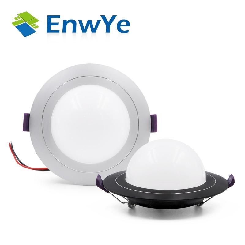 EnwYe LED Downlight Ceiling 9W 12W Warm White/cold White Led Light AC 220V