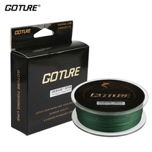 Goture 500M Braided Fishing Line Cord Rope PE Multifilament Line Saltwater Freshwater Fishing 8LB-80LB 4Strands(China)