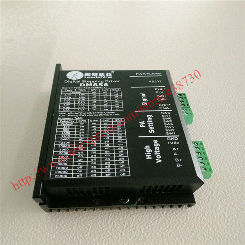 HTB1T7.bQXXXXXcgapXXq6xXFXXXF - 1pcs DM856 32 bit DSP digital driver / 86 stepper motor driver / two-phase stepper motor 20-80VDC