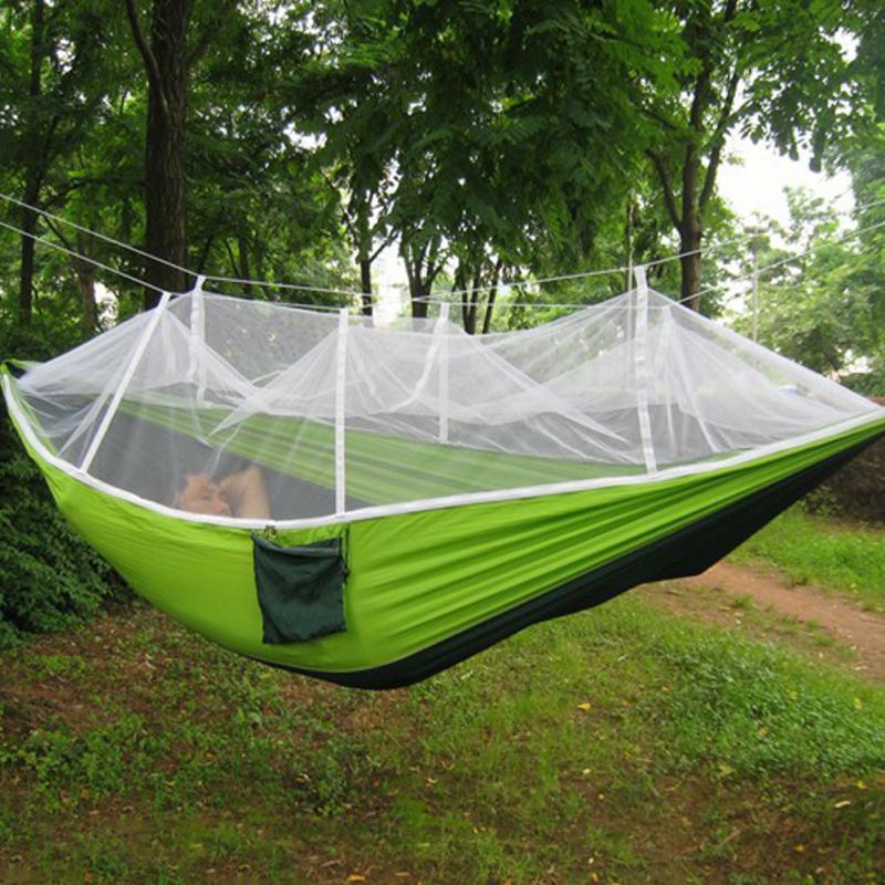 Multifonctionnel Portable Camping Tente Hamac avec Moustiquaire ...