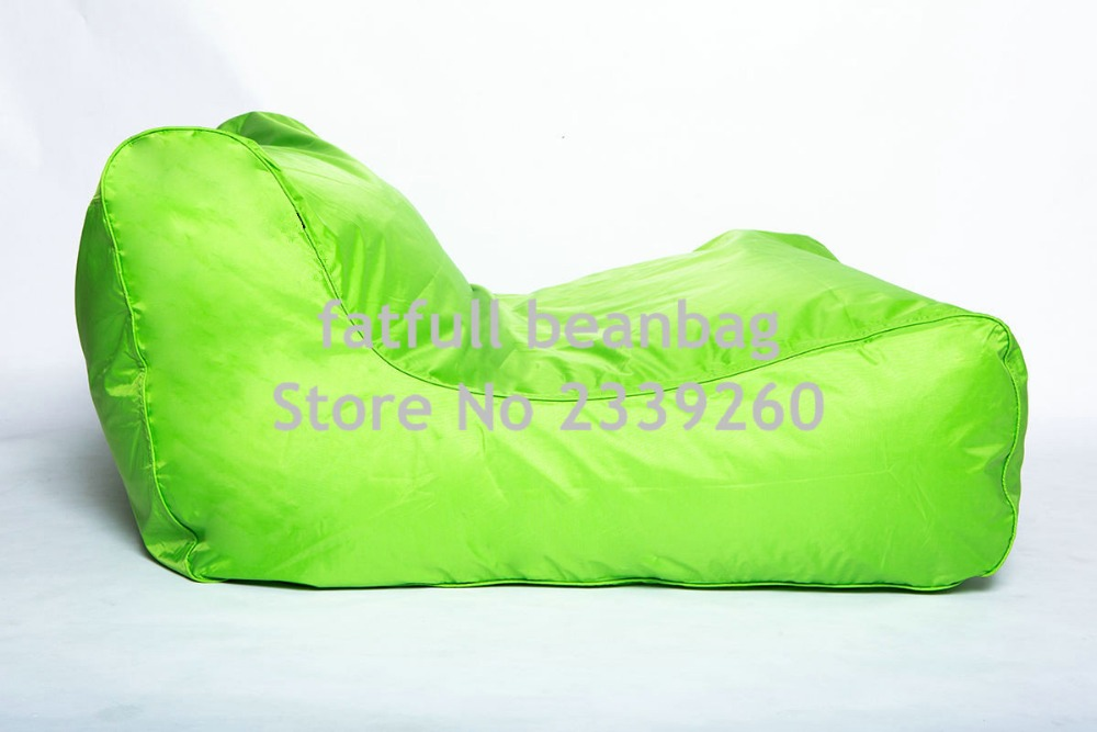 US $56.0 |Cover only No Filler Lime green Large bean bag sofa seat  furniture, outdoor beanbag chairs, double room set-in Bean Bag Sofas from  Furniture ...
