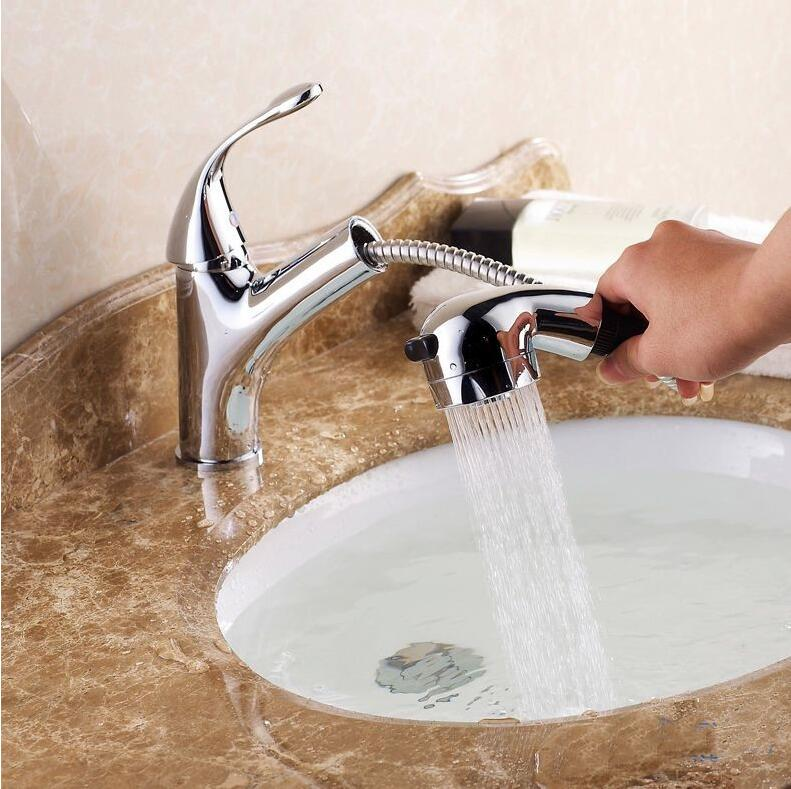 Free Shipping! Hot and Cold Water Basin Faucets! Bathroom bath ...