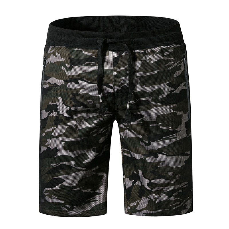 Men's Camouflage Swimsuits Summer Beach   Board     Shorts   Loose Cotton Swimwear Swim   Shorts   Outdoor Five Pants Man Plus Size Trunks
