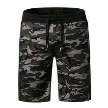 Mens Camouflage Swimsuits Summer Casual Loose Board Shorts Quick Dry Beach Wear Outdoor Five Pants Halter Mesh 2019