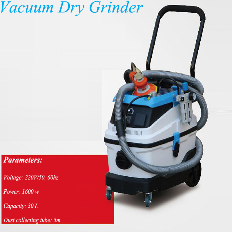 Broyeur à sec sans poussière de voiture pneumatique papier de verre électrique rectifieuse à sec sous vide GD-GM-I