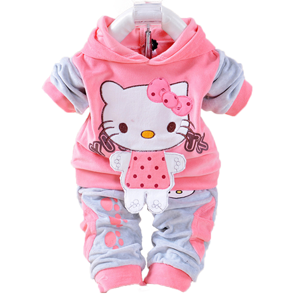 Aliexpress Buy Baby Girl Clothes Sets Newborn Kitty