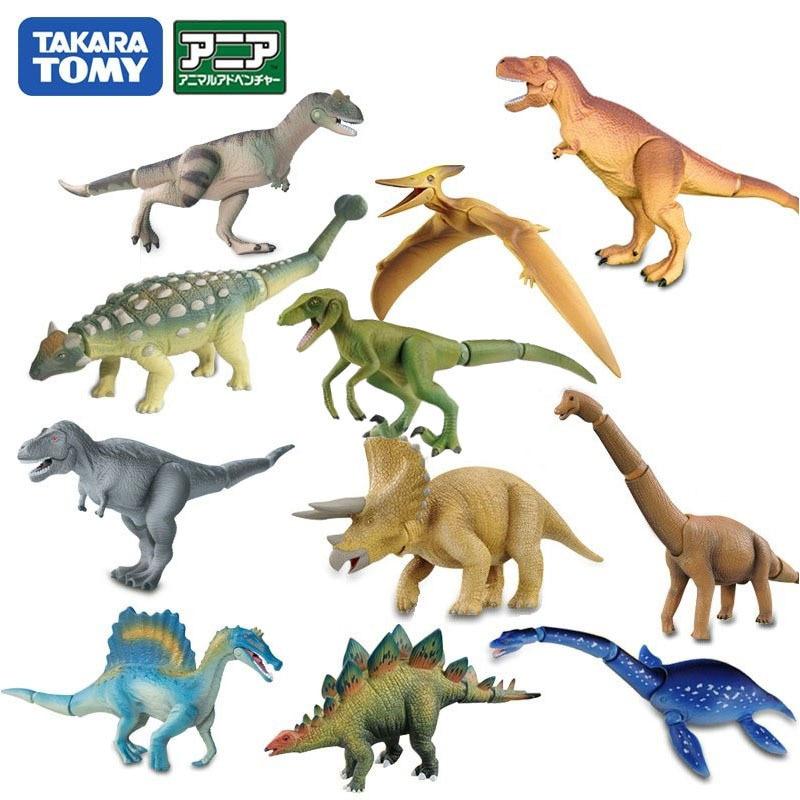 TAKARA TOMY Animal Model Toys For Kids Jurassic World Dinosaurs Park Joint Movable Action Figure
