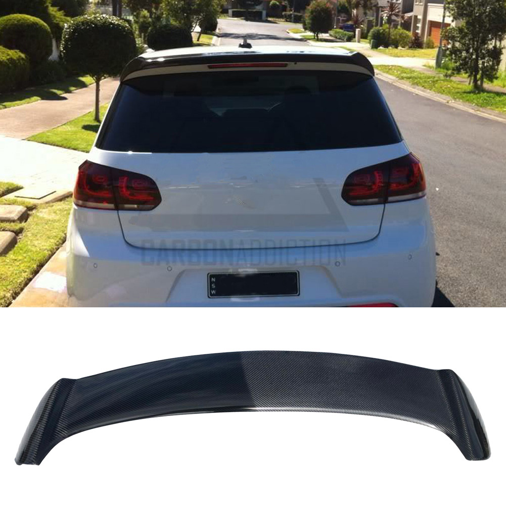 Carbon Rear Trunk Roof Spoiler for Volkswagen  Golf 6  r 2009-2013 OSir style not fit for golf6 standard 2007 bmw x5 spoiler